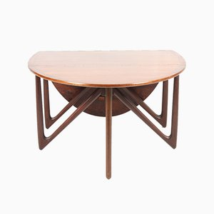 Danish Rosewood Dining Table by Kurt Østervig for Jason Møbler, 1960s
