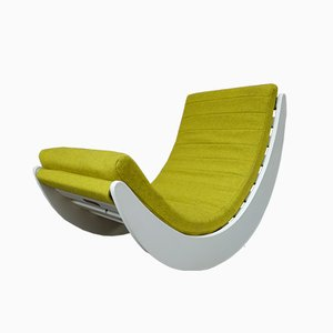 Relaxer Rocking Chair by Verner Panton for Matzform, 1990s