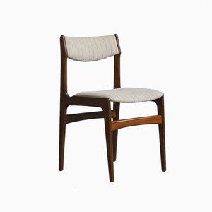 Chaise d'Appoint en Teck par Erik Buch de O.D. Møbler, 1970s