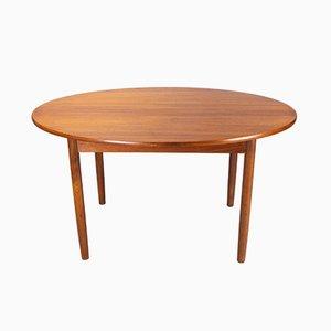 Tavolo da pranzo allungabile in teak di Malcolm David Walker per Dalescraft, anni '60