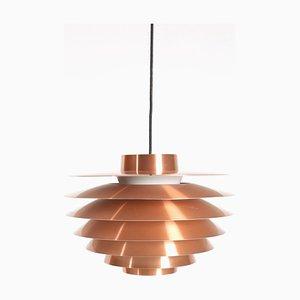 Verona Deckenlampe aus Kupfer von Svend Middelboe für Nordisk Solar, 1960er