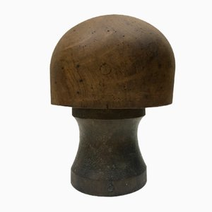 Antique Walnut Hat Mold