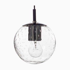 Kleine Kristallglas Deckenlampe von Raak, 1960er