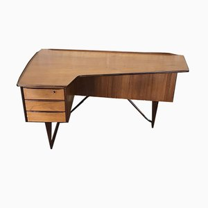 Vintage Teak Desk by Peter Løvig Nielsen for Løvig