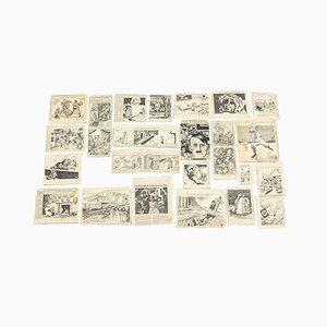Affiches World War II du New York Times, 1940s, Set de 24