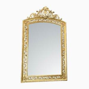 Miroir Antique Doré à la Feuille d'Or