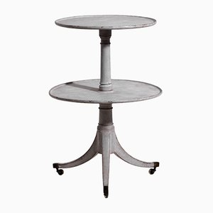 Antique English Swivel Cake Stand, 1860s