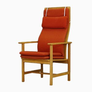 Vintage Danish Armchair by Børge Mogensen for Fredericia, 1970s