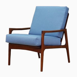 Vintage Danish Lounge Chair, 1960s
