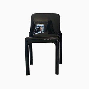 Vintage Italian Model Selene Dining Chair by Vico Magistretti for Artemide, 1960s