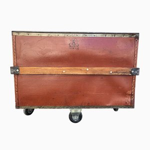 Linen Chest on Wheels from Suroy, 1920s