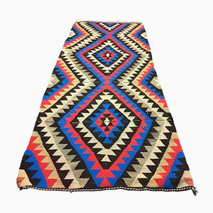 Vintage Turkish Kilim Runner, 1960s