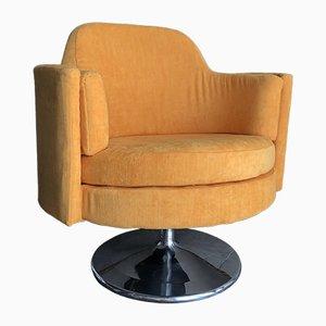 Club chair Mid-Century girevole, anni '60