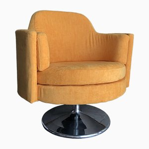 Mid-Century Swivel Club Chair, 1960s