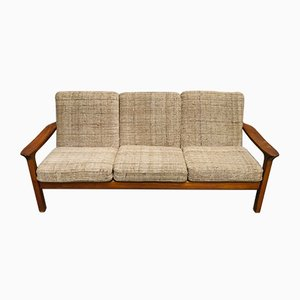 Mid-Century Danish Teak Sofa by Juul Kristensen for Cado, 1970s