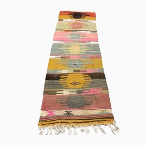 Vintage Turkish Narrow Kilim Runner, 1960s