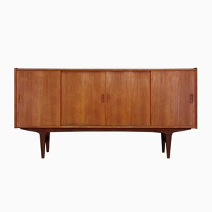 Dänisches Mid-Century Teak Highboard, 1960er