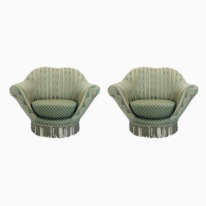 Vintage Italian Lounge Chairs by Federico Munari, 1960s, Set of 2