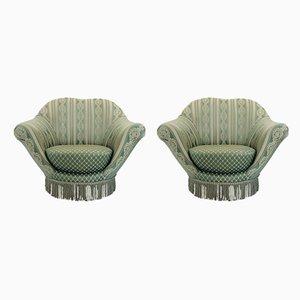 Vintage Italian Lounge Chairs by Federico Munari, 1960s, Set of 2