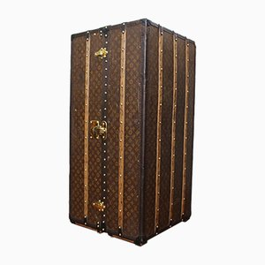 Antique Wardrobe Trunk by Louis Vuitton, 1914