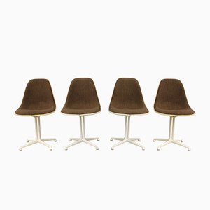 Chaises de Salle à Manger La Fonda Vintage par Charles & Ray Eames pour Vitra, Set de 4