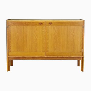 Mueble danés Mid-Century de fresno, años 60