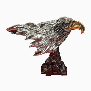 Silver Bald Eagle Sculpture from D'Argenta, 2000s