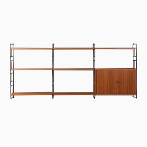 Walnut Wall Unit from WHB, 1960s