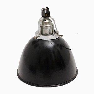 German Black and White Hanging Lamp, 1920s