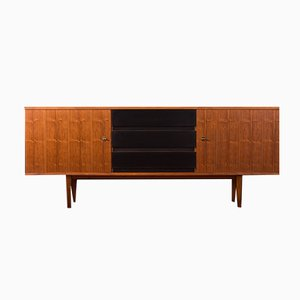 Walnuss Sideboard, 1960er