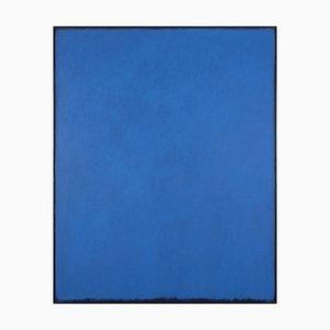Acrylique sur Toile Cobaltblau My Blue Heaven par Rolf Hans, 1984