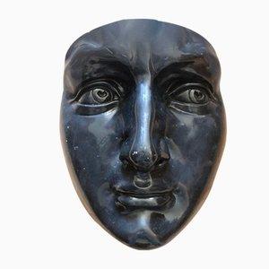 Große Vintage Keramikmaske