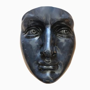Large Vintage Ceramic Mask