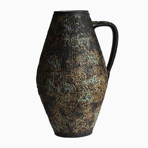 Große niederländische Mid-Century Krug Vase von Piet Groeneveldt Keramiek, 1960er