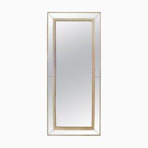 Large Vintage Italian Mirror, 1950s