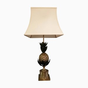 Vintage Hollywood Regency Pineapple Table Lamp from Maison Charles
