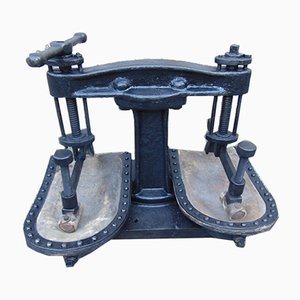 Antique Industrial Iron Press
