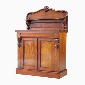 Antiker viktorianischer Schrank aus Mahagoni