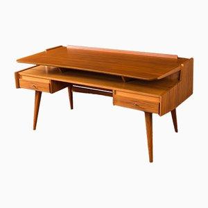 Walnuss Schreibtisch von WK Möbel, 1950er