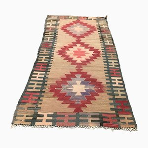 Vintage Turkish Kilim Runner, 1970s
