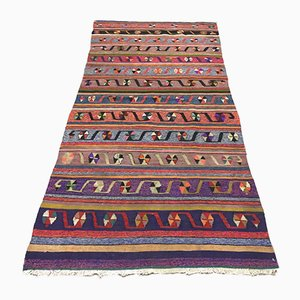 Vintage Turkish Narrow Kilim Carpet, 1960s