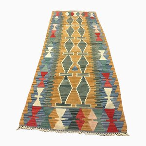 Vintage Turkish Narrow Kilim Rug, 1970s