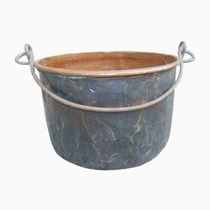 Vintage Copper Garden Planter
