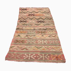 Vintage Turkish Narrow Kilim Runner Carpet, 1970s