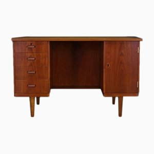 Vintage Danish Teak Writing Desk, 1960s