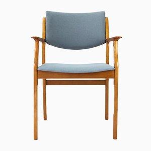 Vintage Armlehnstuhl aus Kirschholz, 1950er
