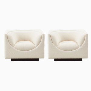 Armchairs by Jorge Zalszupin for L'Atelier Brazil, Set of 2