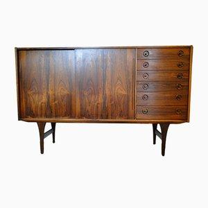 Vintage Scandinavian Rosewood Sideboard, 1960s