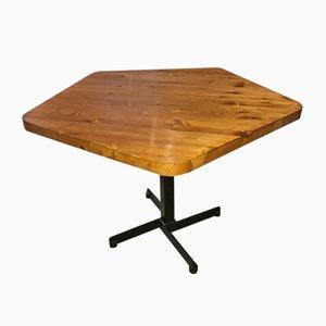 Table d'Appoint Pentagonale Les Arcs 1600 par Charlotte Perriand, 1969