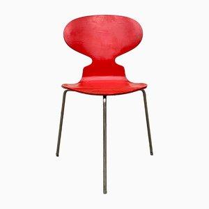 Sedia nr. 3100 Ant vintage di Arne Jacobsen